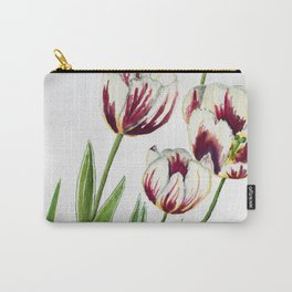 Watercolour Tulips Carry-All Pouch