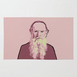 Leo Tolstoy Rug
