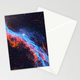 Nebula and stars Stationery Cards