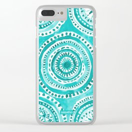 WHAT GOES AROUND Clear iPhone Case