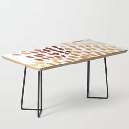 Colorful City Dots Coffee Table