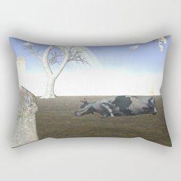 War Stars:Cow Rectangular Pillow