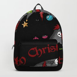 Oh Christmas Tree - Goth, Skull Backpack