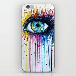Color eyes iPhone Skin