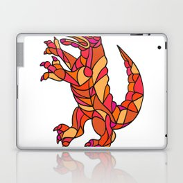 Crocodile Prancing Mosaic Color Laptop & iPad Skin