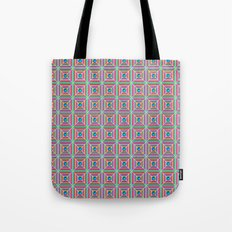 Connect the Dots Pattern Tote Bag