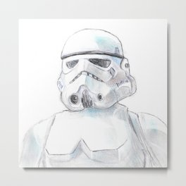 Storm Trooper Metal Print