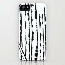 Nature's Barcode iPhone Case
