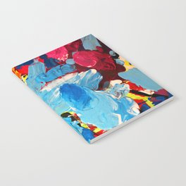 Painters' Splatter Notebook