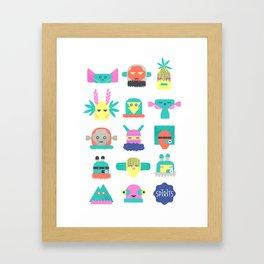 Assembly of Spirits  Framed Art Print