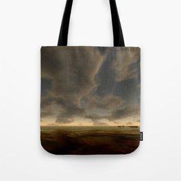 Bronze Waters Tote Bag