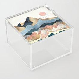 Golden Peaks Acrylic Box