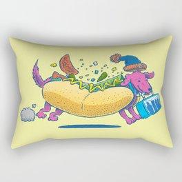 Chicago Dog: Lunch Pail Rectangular Pillow