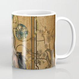 Wonderful fairy with crow Coffee Mug