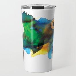 colorful fish Travel Mug