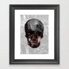 The Death of the Moon Framed Art Print