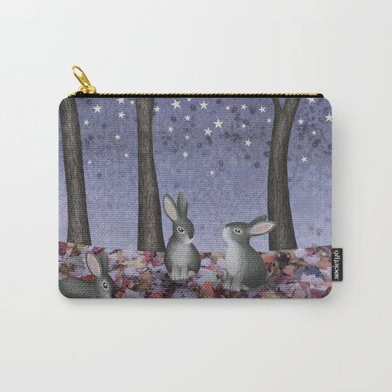 starlit bunnies Carry-All Pouch