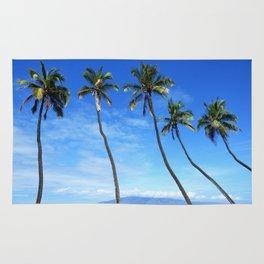 Maui Palm Trees Rug
