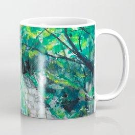 Reader Rock Garden Coffee Mug