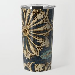 Watercolour woven fabric  Anemone (1876) by William Morris Travel Mug