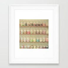 Sweet Shop Framed Art Print