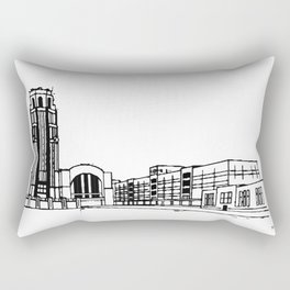 The Buffalo Central Terminal Rectangular Pillow