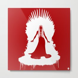 Mother of King Metal Print
