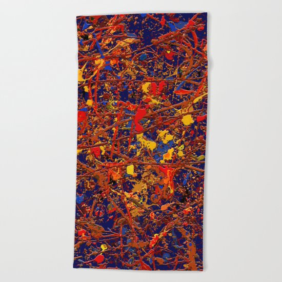Abstract #725 Beach Towel
