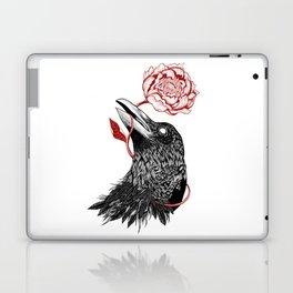Raven Flower Laptop & iPad Skin
