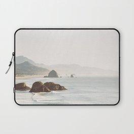 overlooking cannon beach Laptop Sleeve