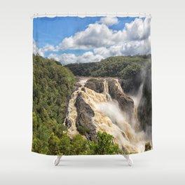 Magnificent Barron Falls in Queensland Shower Curtain