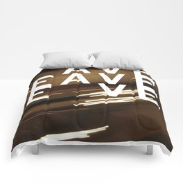 Have Heaven Even? Comforters