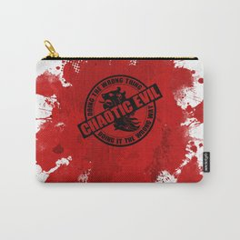 Chaotic Evil RPG Game Alignment Carry-All Pouch