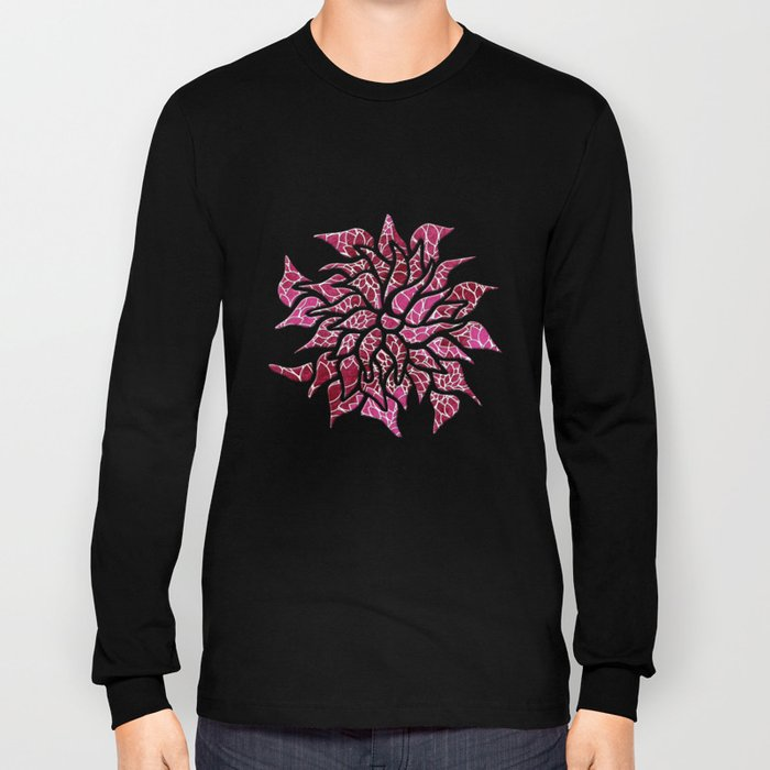 Floral Abstract 26 Long Sleeve T-shirt