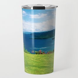 Color photo of Firefly view in Ocho Rios, Jamaica by Larry Simpson Travel Mug