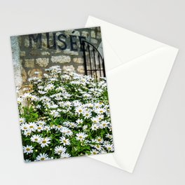 Museum & wild flowers - France Stationery Cards