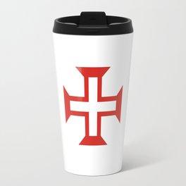 Cross of the Order of Christ (Cruz da Ordem de Cristo) Travel Mug