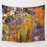 chaos Wall Tapestries featuring Chaos by BruceStanfieldArtistPainter