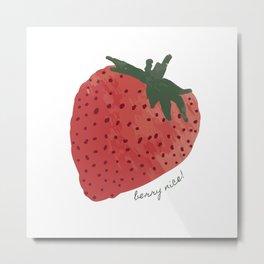 Berry Nice! Metal Print