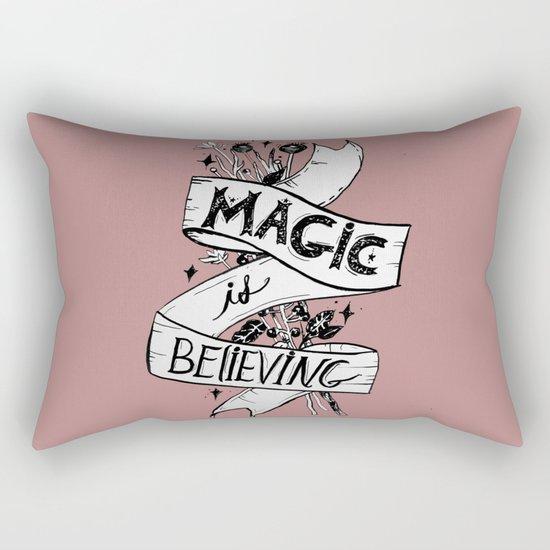 Magic Is Believing Rectangular Pillow