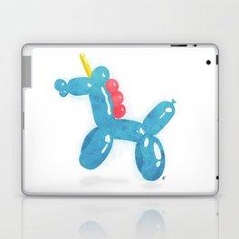 Balloonicorn - Blue Laptop & iPad Skin