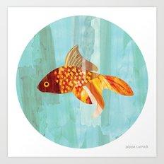 Little Fishy Art Print