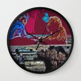 The Meaning of Love Wall Clock