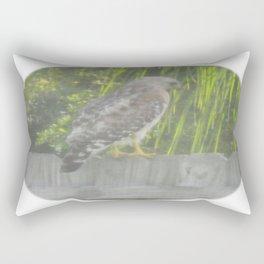 Falcon gazing Rectangular Pillow