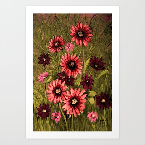 Flowers 3 Art Print