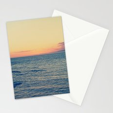 Sunset Over Ocean Stationery Cards
