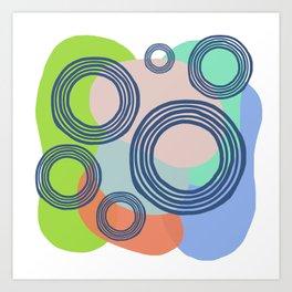 Fresh Circled Glassy Art Print