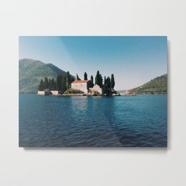 Bay of Kotor 3 Metal Print