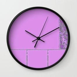 Rose Collage 46 Wall Clock