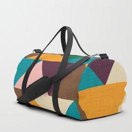 Kilim Chevron Duffle Bag